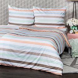4Home Obliečky Pastel Stripes micro, 160 x 200 cm, 70 x 80 cm