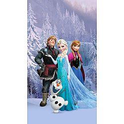 AG ART Detský zatemňovací záves Ľadové kráľovstvo Frozen, 140 x 245 cm
