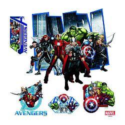 AG Art Samolepiaca dekorácia Avengers, 30 x 30 cm