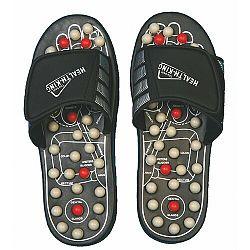 Akupresúrne masážne papuče suché zipsy (nanotextilia s magnetmi) - SJH 314A, 42 - 44