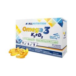 All Nutrition Omega 3 K2 + D3 30 kaps