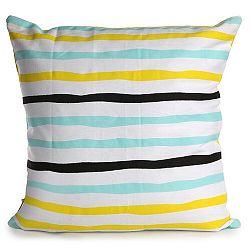 Altom Obliečka na vankúš Yellow Stripes, 40 x 40 cm
