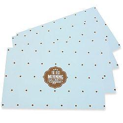 Altom Prestieranie Vintage blue, 28 x 43 cm, sada 4 ks