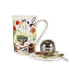 Banquet Garden 3dielna čajová súprava,