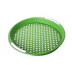 Banquet Tácka zelená bodka pr. 40 cm, okrúhla
