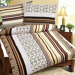 Bellatex Flanelové obliečky Ihlany, 140 x 200 cm, 70 x 90 cm