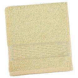 Bellatex Froté uterák Kamilka prúžok svetložltá, 50 x 100 cm