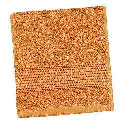 Bellatex froté uterák Prúžok oranžová, 50 x 100 cm