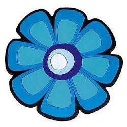 Bellatex Kuchynská podložka Kvet modrá 10 cm