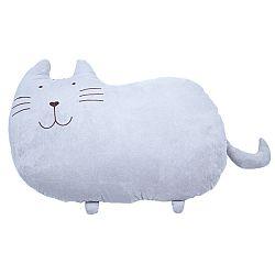 BO-MA Trading Plyšová mačka Fúzik, 53 x 37 cm