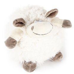 Bo-Ma Trading Plyšová ovca Biela guľa, 17,5 cm