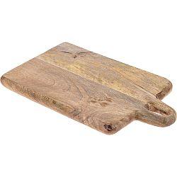Doštička z mangového dreva 33 x 20 x 2,2 cm