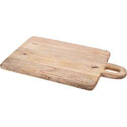 Doštička z mangového dreva 50 x 31 x 2,2 cm