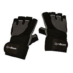 Fitness Rukavice Ronnie - GymBeam black - grey L