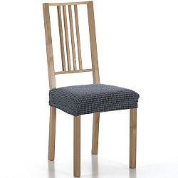 Forbyt Multielastický poťah na sedák na stoličku Sada modrá, sada 2 ks