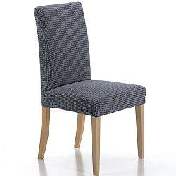 Forbyt Multielastický poťah na stoličku Sada modrá, 40 - 50 cm, sada 2 ks