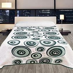 Forbyt Prehoz na posteľ Congo zelená, 140 x 220 cm
