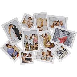 Fotorámček People na 11 fotografií, biela