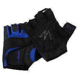 GymBeam Fitness rukavice Dexter black - blue L