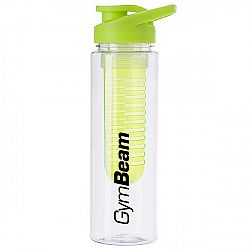 GymBeam Fľaša Fruit Infuser Green 650 ml