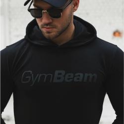 GymBeam Mikina Urban Black black XXL