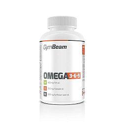 GymBeam Omega 3-6-9 120 kaps unflavored