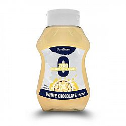 GymBeam White Chocolate 350 ml white chocolate