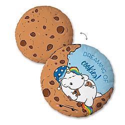 Herding Vankúšik Pummel Einhorn Cookies, 30 cm