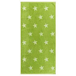 JAHU Osuška Stars zelená, 70 x 140 cm