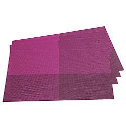 Jahu Prestieranie DeLuxe fialová, 30 x 45 cm, sada 4 ks