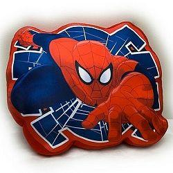 Jerry Fabrics Tvarovaný vankúšik Spiderman 02, 34 x 30 cm