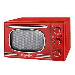 Kalorik OT 2500 R Mini rúra Retro, červená, 19,5 l