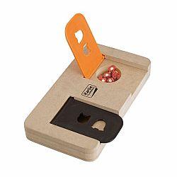 Karlie Interaktivní dřevěná hračka RIDDLE 22x12cm