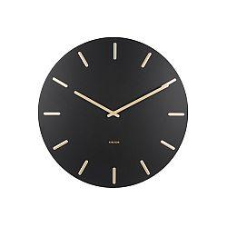 Karlsson 5716WH Dizajnové nástenné hodiny pr. 45 cm