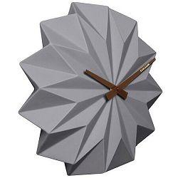 Karlsson KA5531GY Designové nástenné hodiny, 27 cm