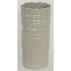 Keramická váza Belmez, sivá