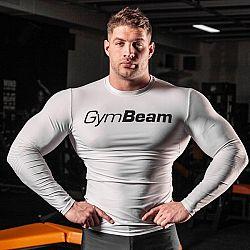 Kompresné tričko Spiro White/Black - Gym Beam XL