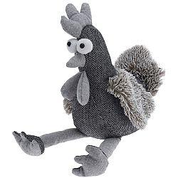 Koopman Dverná zarážka Chicken, sivá