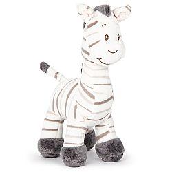 Koopman Plyšová zebra biela, 22 cm
