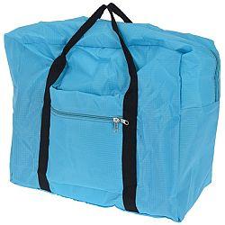 Koopman Skladacia cestovná taška svetlomodrá,  44 x 37 x 20 cm
