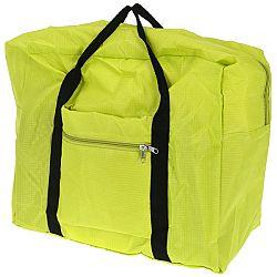 Koopman Skladacia cestovná taška zelená, 44 x 37 x 20 cm