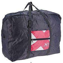 Koopman Skladacia športová taška Condition ružová, 55 l