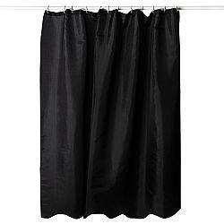 Koopman Sprchový záves čierna, 180 x 180 cm