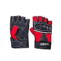 Kožené bezprstové moto rukavice W-TEC Reubal NF-4190