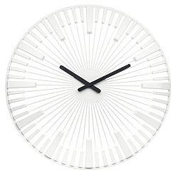 Koziol Nastenné hodiny Piano biela, pr. 45 cm