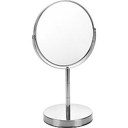 Kozmetické zrkadielko Stacy, strieborná