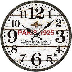 Lowell 14889 Dizajnové nástenné hodiny pr. 34 cm
