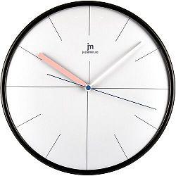 Lowell 14962S Dizajnové nástenné hodiny pr. 25 cm