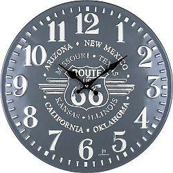 Lowell 21507 Designové nástenné hodiny pr. 40 cm