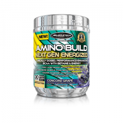 MuscleTech Amino Build Next Gen Energized 280 g concord grape